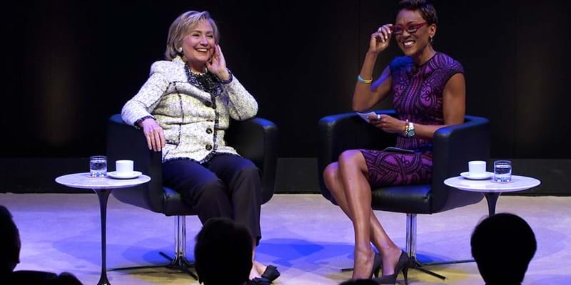Hillary Rodham Clinton at PNY. 2014. This image is not available under 4.0 Creative Commons license.