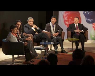 Sharing the Stage: Globalization and Cultural Might. 2011. This image is not available under the 4.0 Creative Commons license.