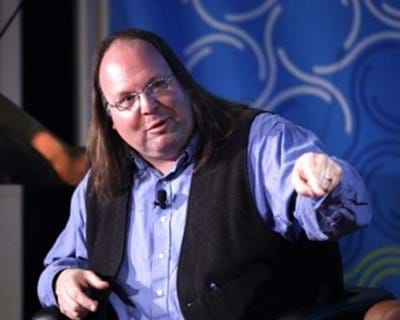 Panelist Ethan Zuckerman. 2011. This image is not available under the 4.0 Creative Commons license.