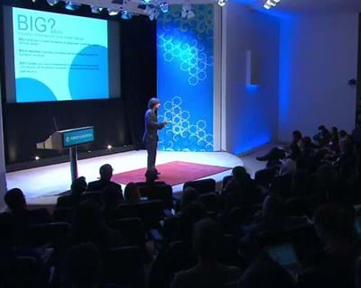 César Hidalgo on how Big Data can be used for longterm positive change. 2012. This image is not available under the 4.0 Creative Commons license.
