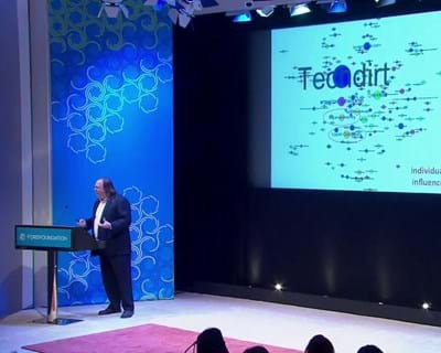 Ethan Zuckerman illustrates the vast reach and impact the Media Cloud. 2012. This image is not available under the 4.0 Creative Commons license.