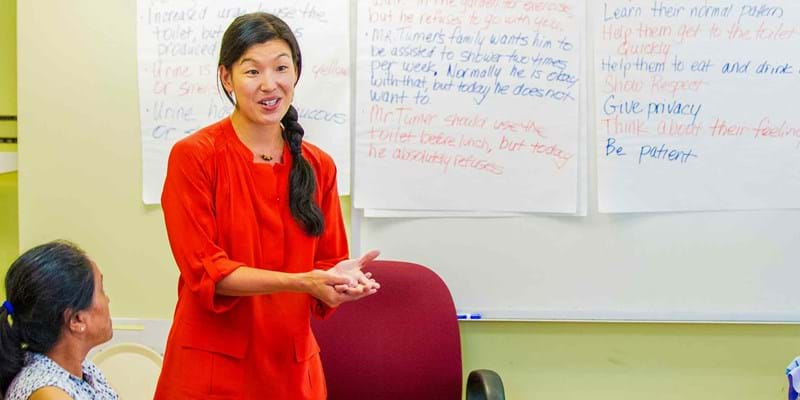 Ai-Jen Poo presents. 2014, Photo Credit & (c) John D. and Catherine T. MacArthur Foundation