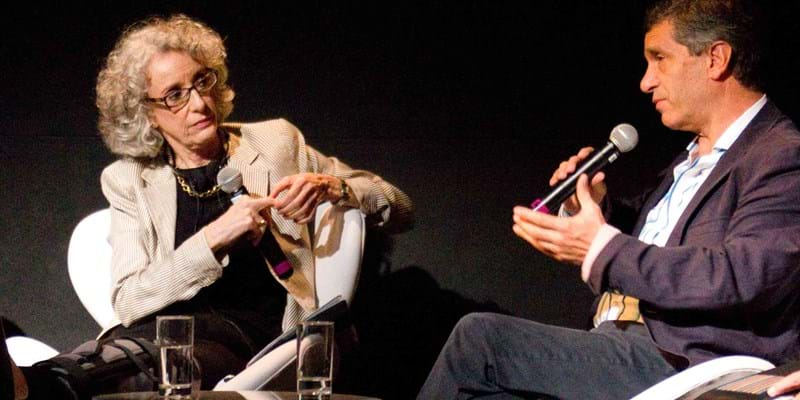 Panelist discuss important issues affecting Latin America. 2012. Photo Credit & (c) Claudia Ferreira
