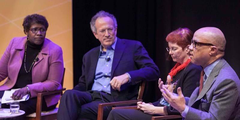 Panel-The Internet, Philanthropy, and Progress: Principles for Future Work. 2015. Photo credit: Martin Dixon (c) Ford Foundation