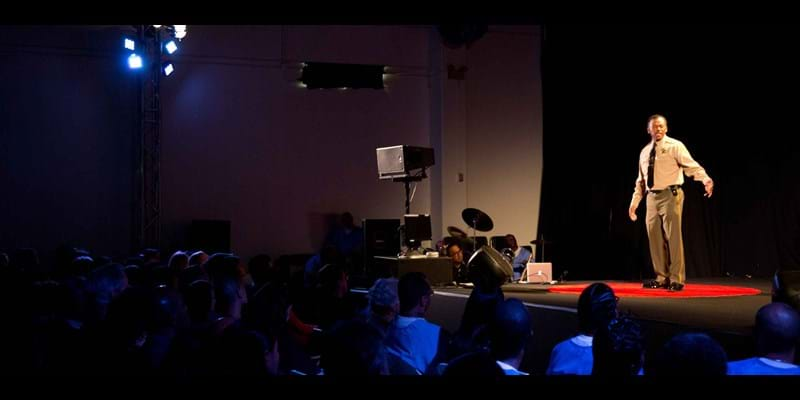 TEDx Talk at Ironwood State Prison. 2014, Photo Credit & (c): Van Ditthavong
