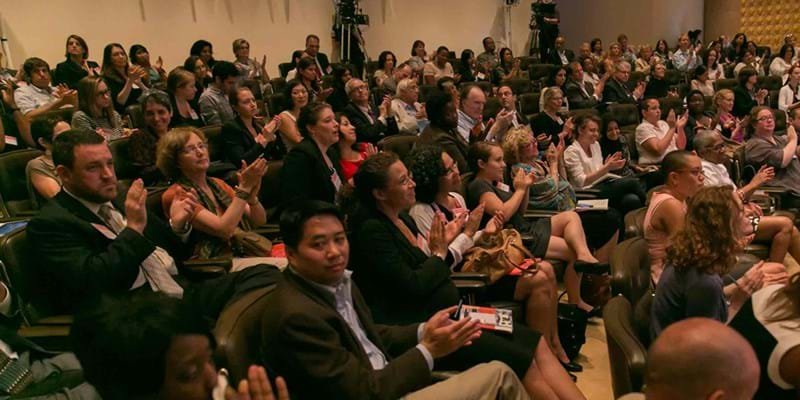 Audience shot. Photo credit: Simon Luethi (c) Ford Foundation
