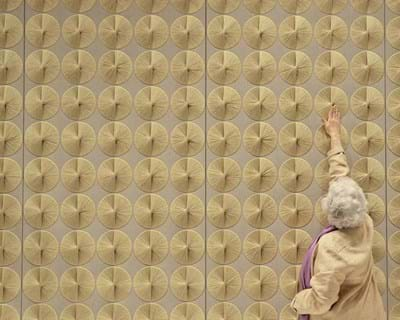 Sheila Hicks: Begin with Thread. 2014. This image is not available under the 4.0 Creative Commons license.