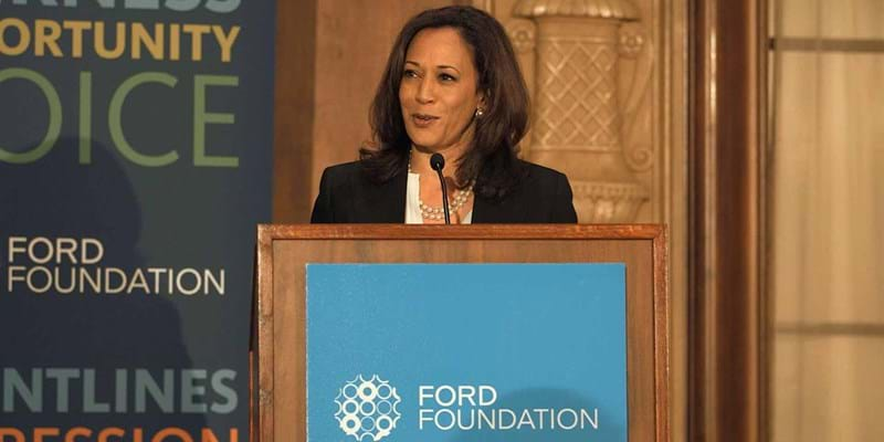 Kamala D. Harris Keynote address. 2014. This image is not available under the 4.0 Creative Commons license.