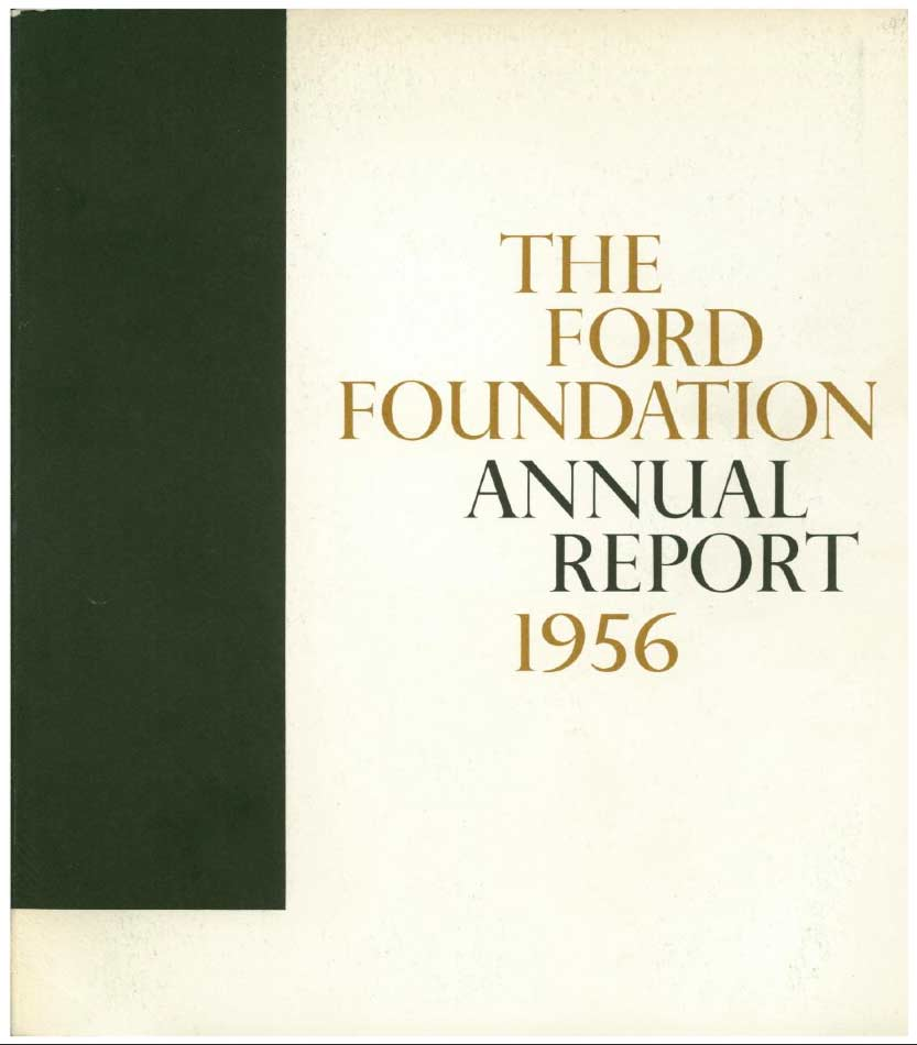 FF Annual Report 1956