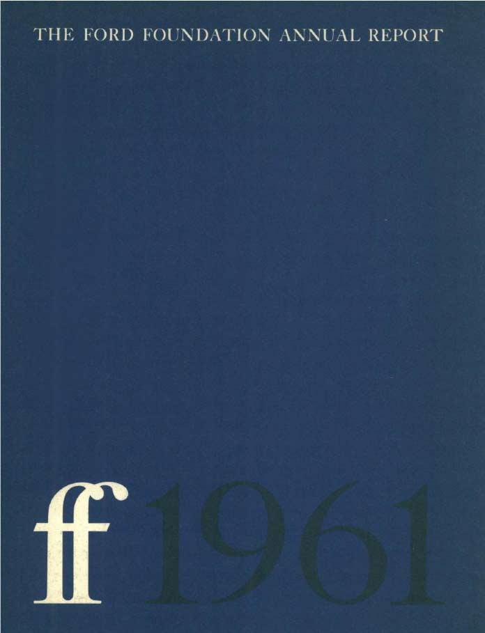 FF Annual Report 1961