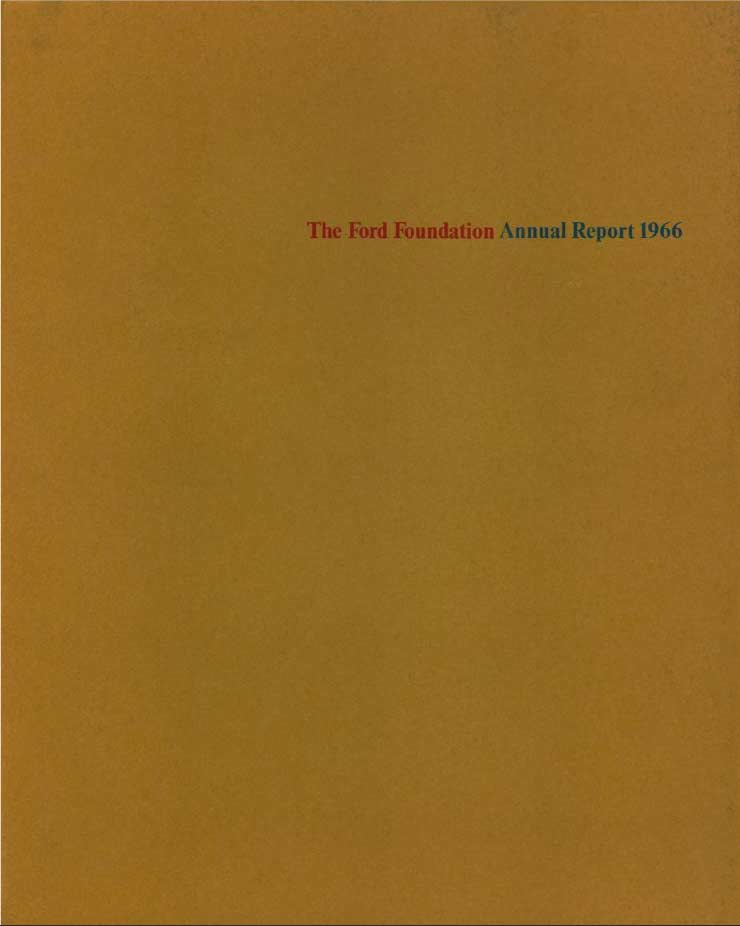 FF Annual Report 1966