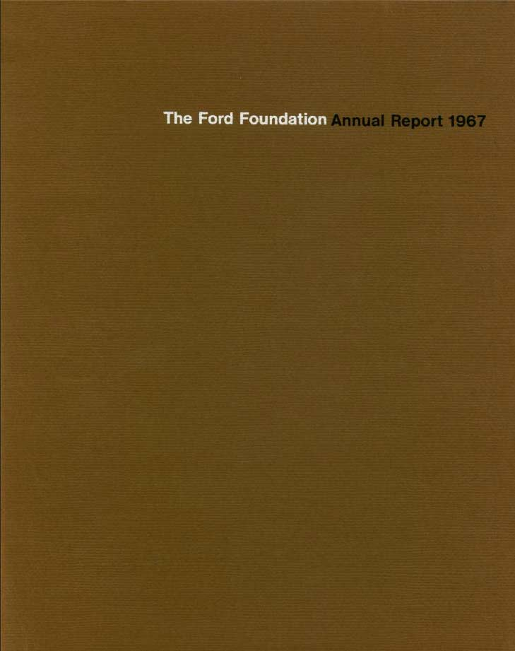 FF Annual Report 1967