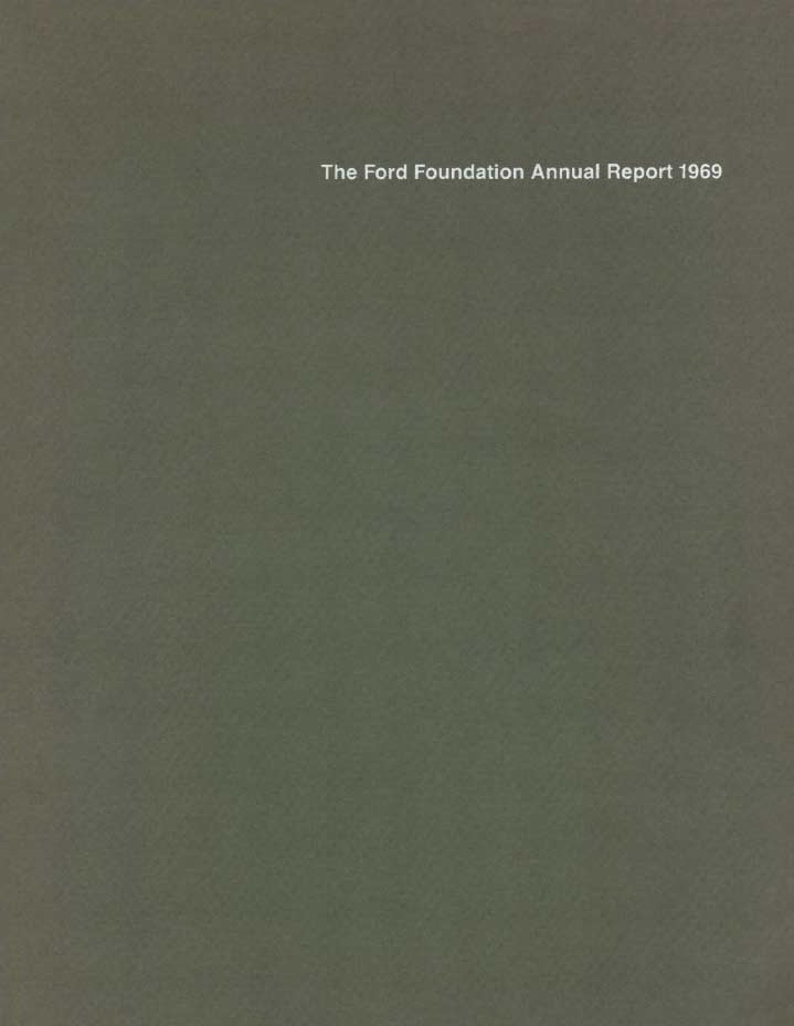 FF Annual Report 1969