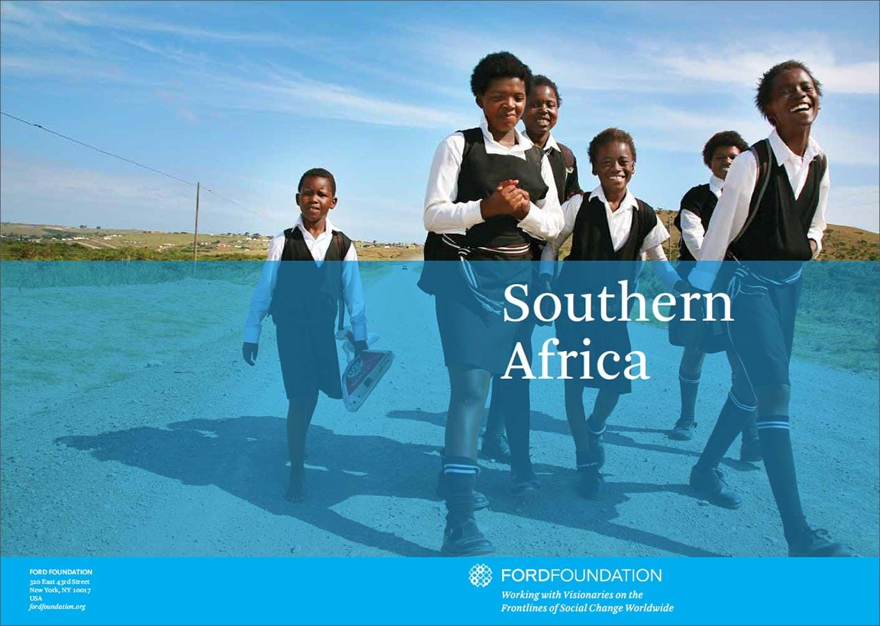 Southern Africa regional brochure