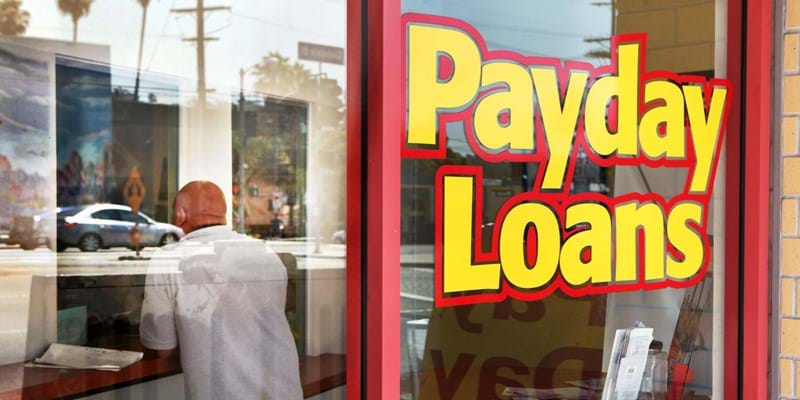 Payday loan shop. Los Angeles. 2010. Photo credit: LA OPINION/Newscom