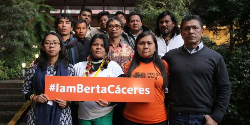 Indigenous leaders who gathered at the Ford Foundation in New York for a workshop send a message to the world that Berta's legacy will continue.