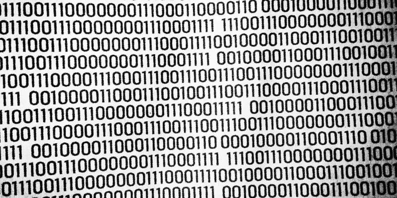 "Ones and zeros representing ""Big data"". 2014. Photo credit: Flickr user Jan Holmquist flickr.com/photos/janholmquist"
