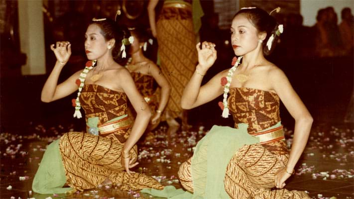 Indonesian Dancers. 1983. Photo Credit: Paul Berry © Ford Foundation