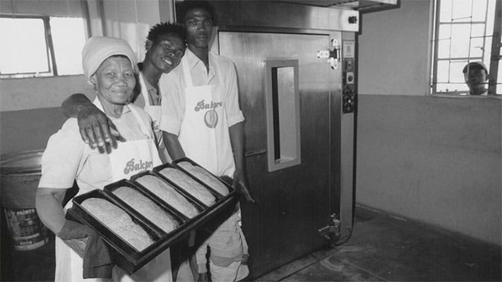 Workers in a bakery. 1994. Photo Credit: © Ford Foundation
