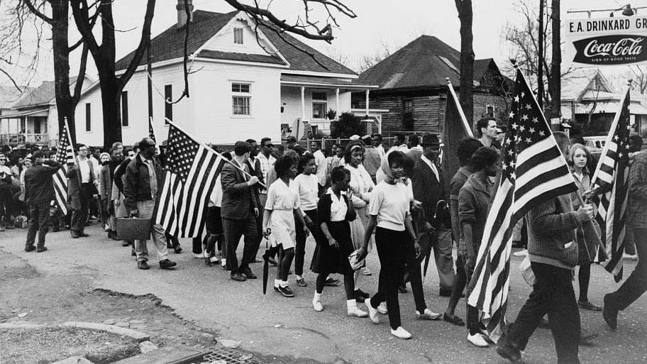 Selma to Montgomery March. TBD. Photo Credit: © Ford Foundation