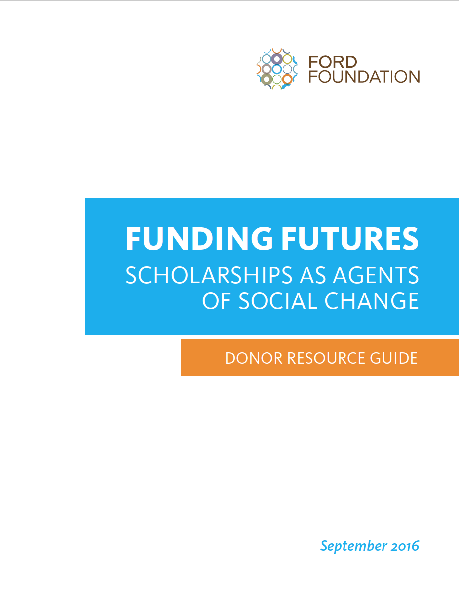 A resource guide for scholarship donors