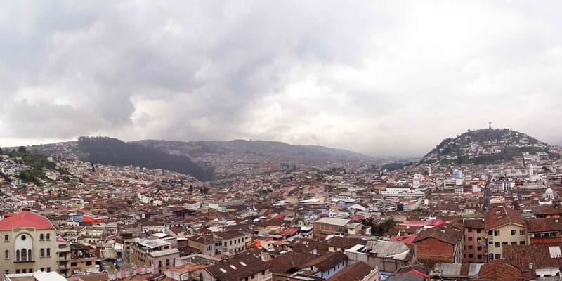 Landscape of Quito, Ecuador. Photo Credit: Flickr user jeremycg