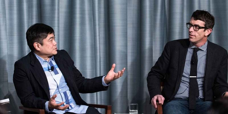 Authors Joi Ito and Jeff Howe discuss the new rules for our faster tech-driven world.