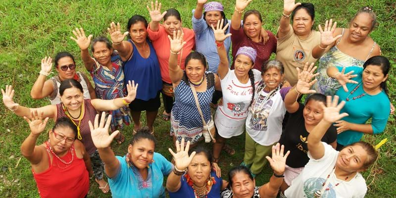 In the Colombian Amazon, indigenous women leaders came together for assembly of the Coordinating Body for the Indigenous Organizations of the Amazon Basin.