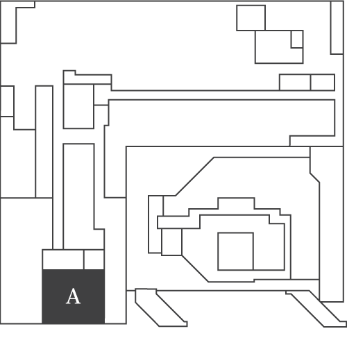 Floor plan of Level A