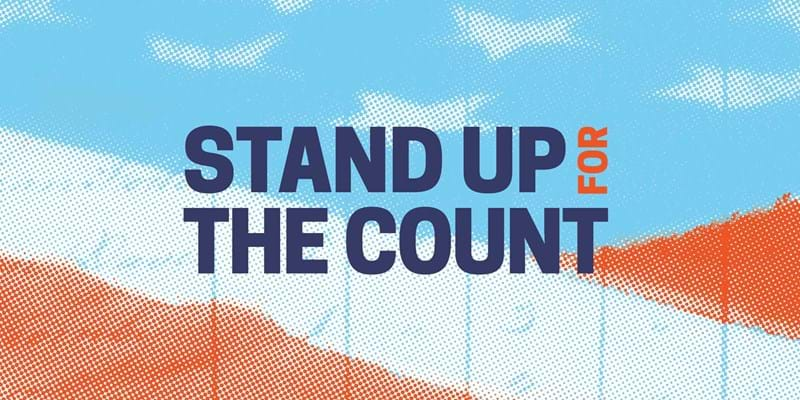 Stand Up for the Count logo