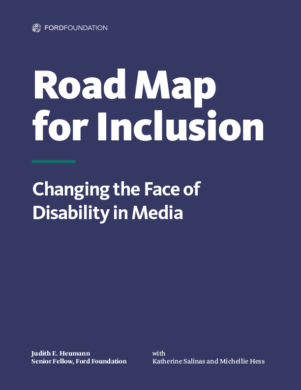 Road Map for Inclusion - Report cover