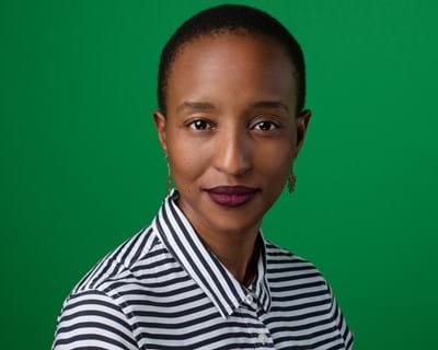 Zuziwe Khuzwayo, New York 2019. Photo credit: Simon Luethi ©Ford Foundation.
