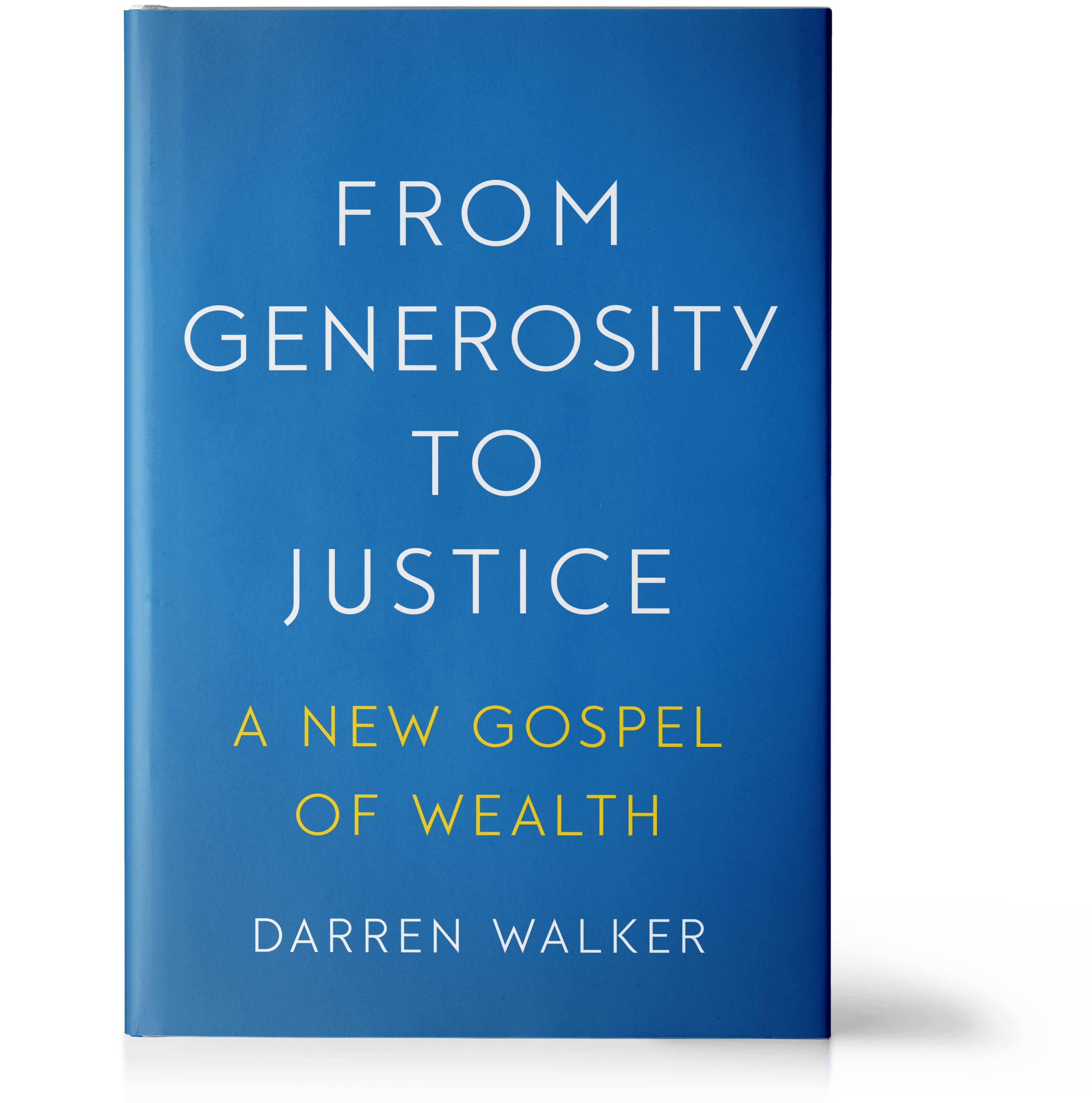 From Generosity to Justice book