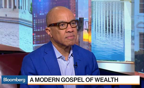 Darren Walker on Bloomberg TV