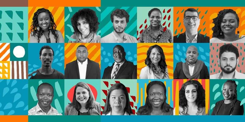 Colorful montage of Ford Global Fellows