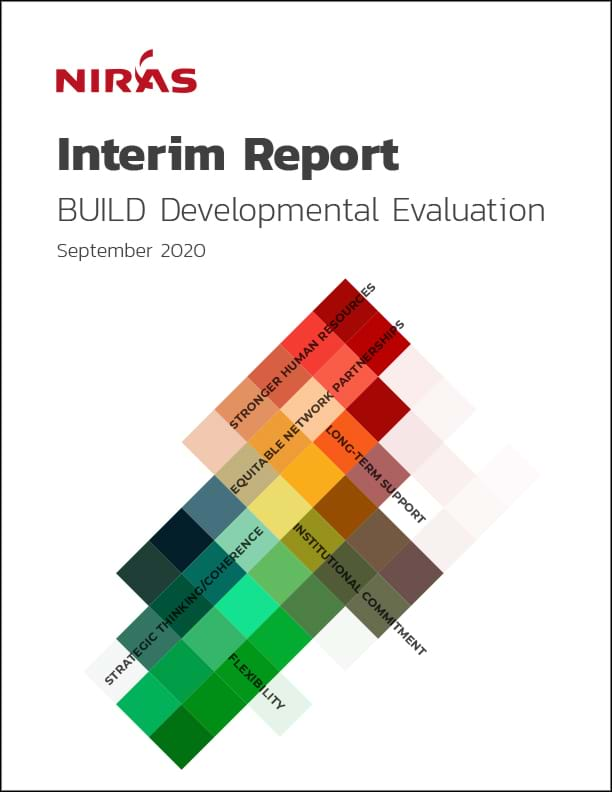 BUILD Evaluation Interim Report cover
